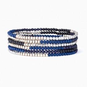 stella and dot trove stretch bracelet